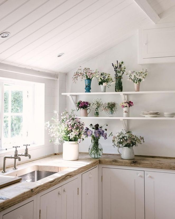 49 Kids Work And Farmhouse Kitchen Shelves Joanna Gaines 38 Farmhouse Gaines Joanna Joannagaines Kids Ki Cottage Kitchens Home Kitchens Kitchen Images,Lounge Beach Style Interior Design