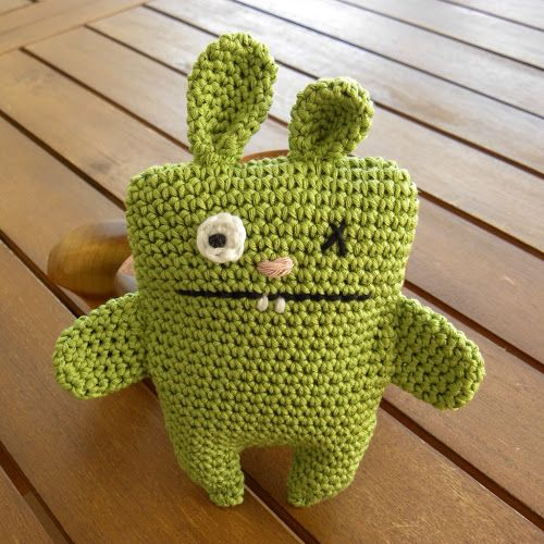 Not 2 late to craft: Conillet per donar la benvinguda a l'Oriol! / Ugly bunny to welcome Oriol! Patró en català / Link to pattern in english
