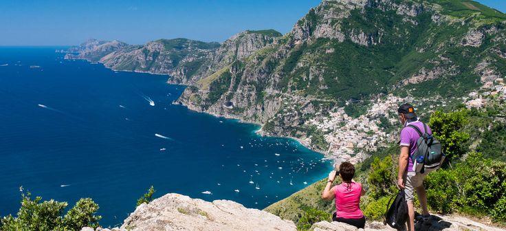 Il Sentiero degli Dei-  Pad van god_ Sorrentina schiereiland Amalfi coast