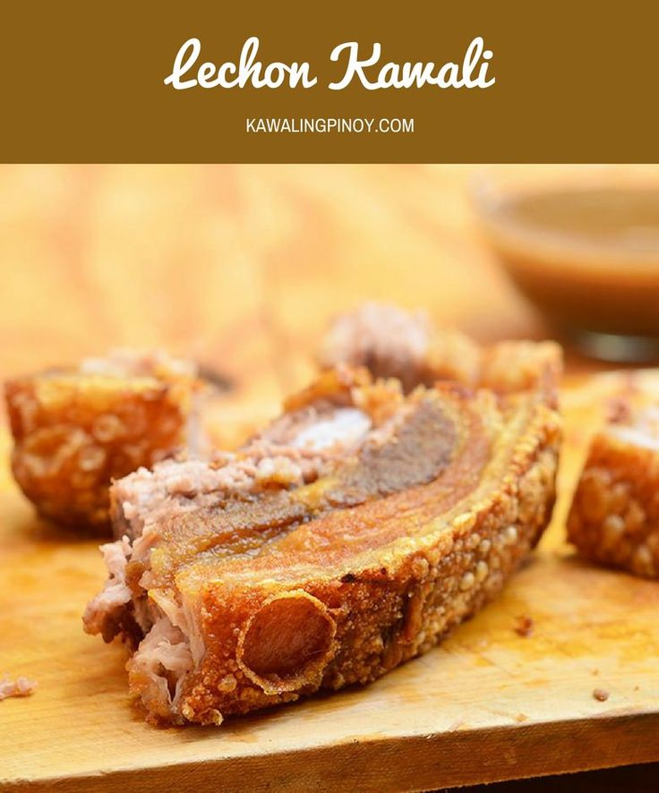 Lechon Kawali is a popular Filipino dish made with pork belly simmered until tender and then deep-fried until golden and crisp. With crunchy skin and super moist meat, every morsel is pork heaven!