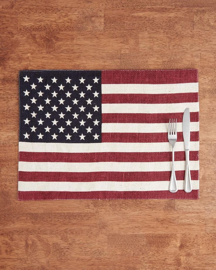 Patriotic Placemats Are A Fun Addition To Fourth Of July Tablescape Aff Americana Fourthofjuly Patrioticplacema Patriotic Holidays Fourth Of July Patriotic