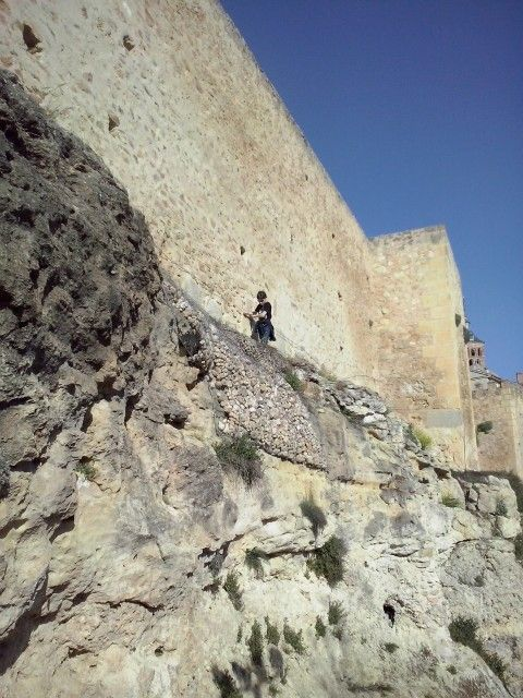 Escalando. Segovia 2014