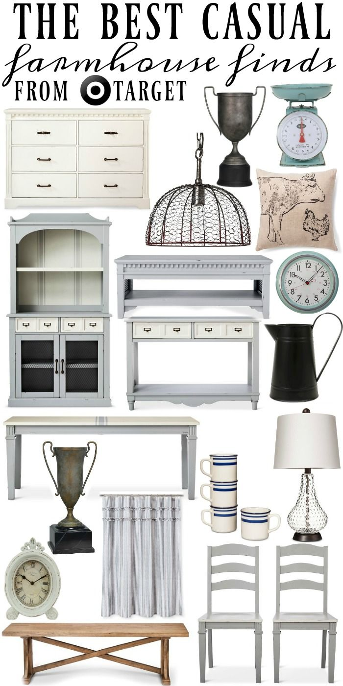 The best casual farmhouse  decor. A must pin for affordable shabby chic farmhouse decor