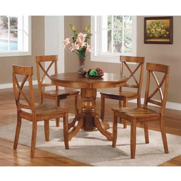 """Round Pedestal Dining Table - 42"""" $262.98"""