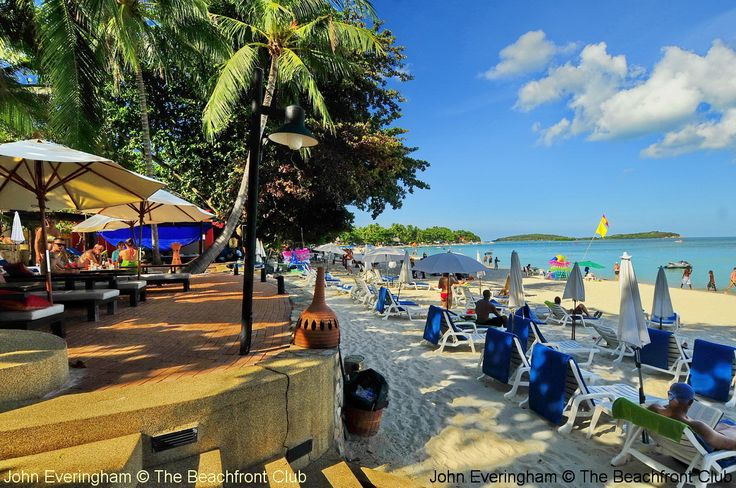 Koh Samui, Thailand. Chaweng Beach is by far the busiest beach on the island.