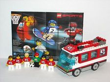"""LEGO SPORTS ~ Soccer ~ TEAM """"JAPAN"""" Minifigs~ w/ Transport Bus~ World Cup"""
