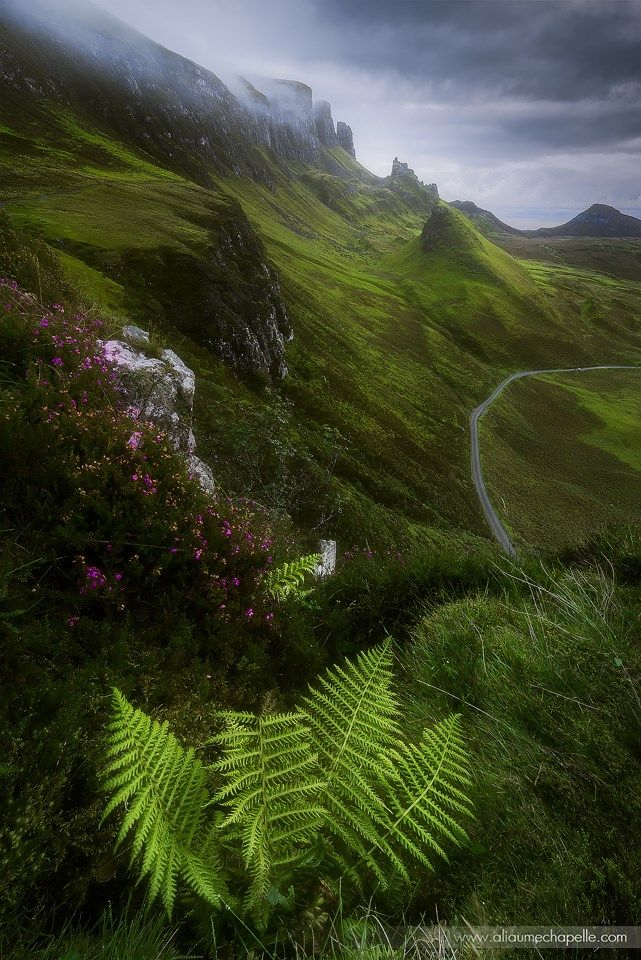 Trotternish landscape view, Isle of Skye, Scotland