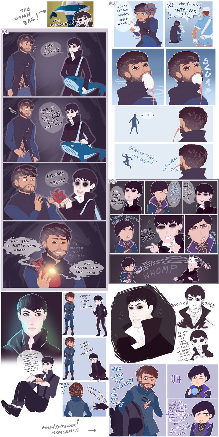 Dishonored Doodle Dump nr 1 by MMtheMayo