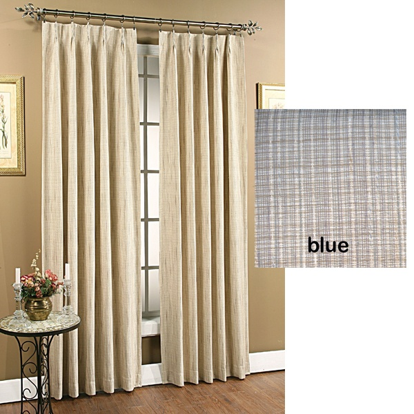 Pinch Pleated Thermal Insulated Drapes: Pinterest