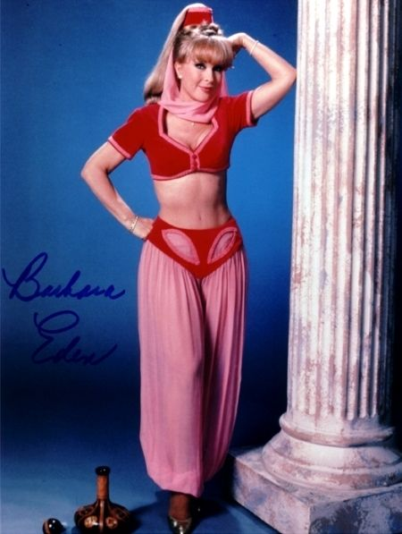 Barbara Eden as Jeannie - i-dream-of-jeannie WOW!  I am still in love, and still jealous of the Captain/Major.