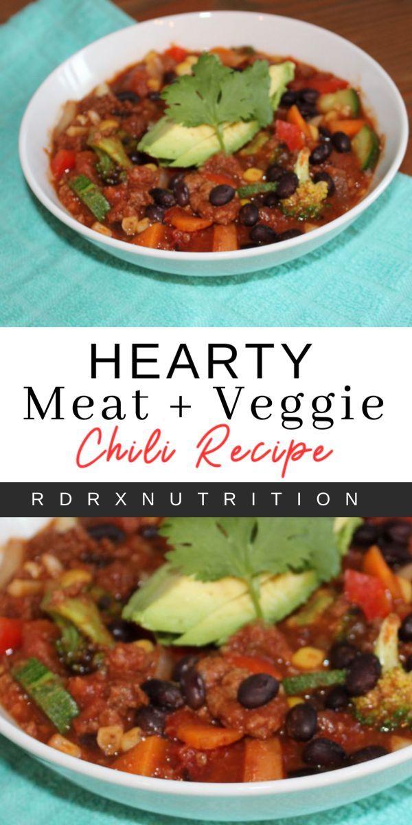 Healthy Hearty Chili Healthy Meats Hearty Chili Veggie Chili Recipes