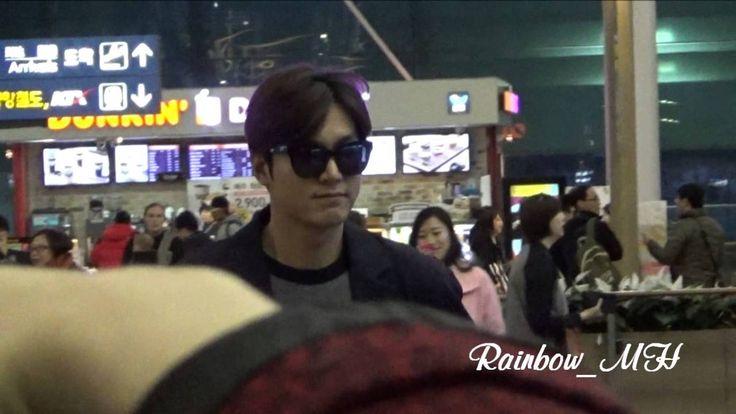 [직캠] 20150224 LeeMinHo Incheon Airport 필리핀 출국~~by Rainbow_MH