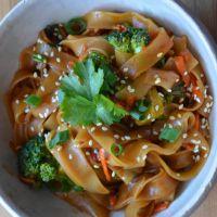 Spicy Thai Noodles | Avocados and Ales