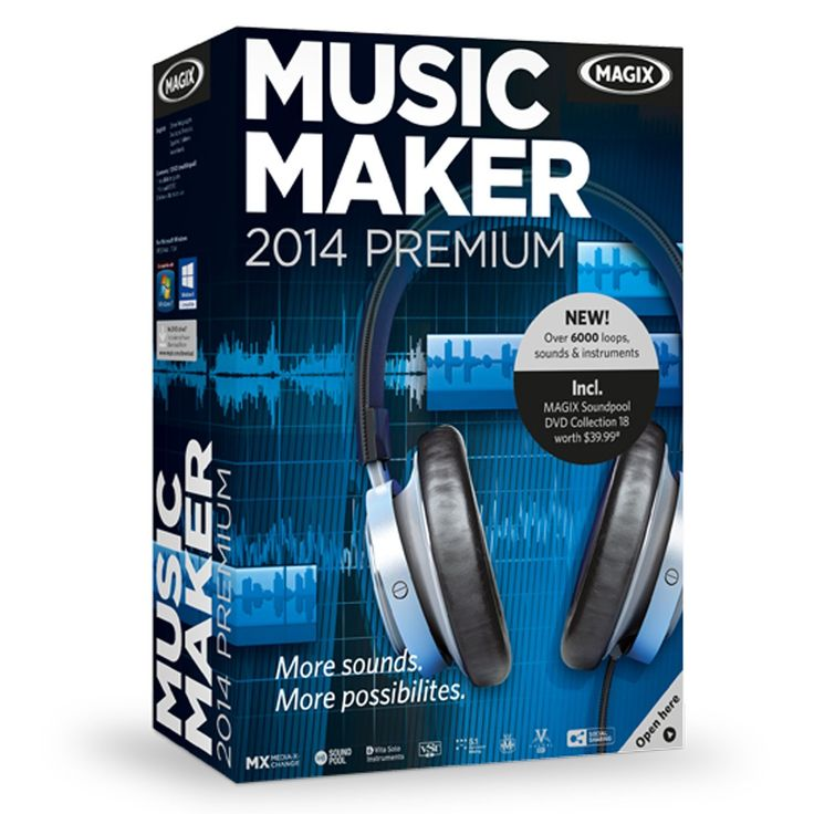 magix music maker mx premium download version 18 serial number
