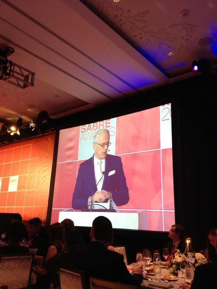 Lord Chadlington lecture at Global PR Summit