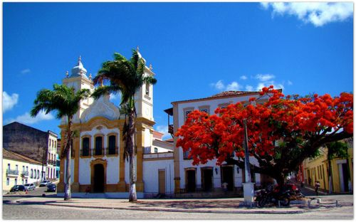Beautiful town of Penedo, Alagoas State, Brazil (by Fred Matos).