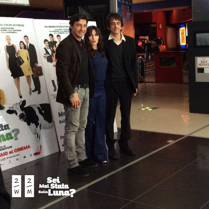 Il film è stato presentato in Anteprima al Cinema Adriano insieme al cast e al regista. Qui un momento della Conferenza stampa con Emilio Sorfrizzi, Sabrina Impacciatore e Sergio Rubini