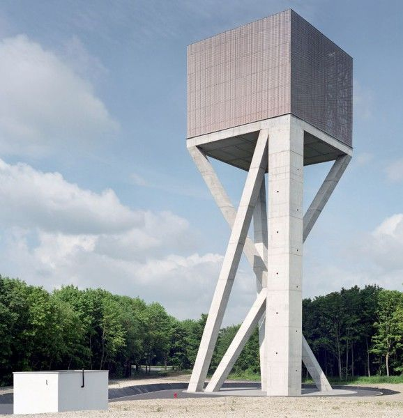 V+ architects . Water Tower . Ghlin