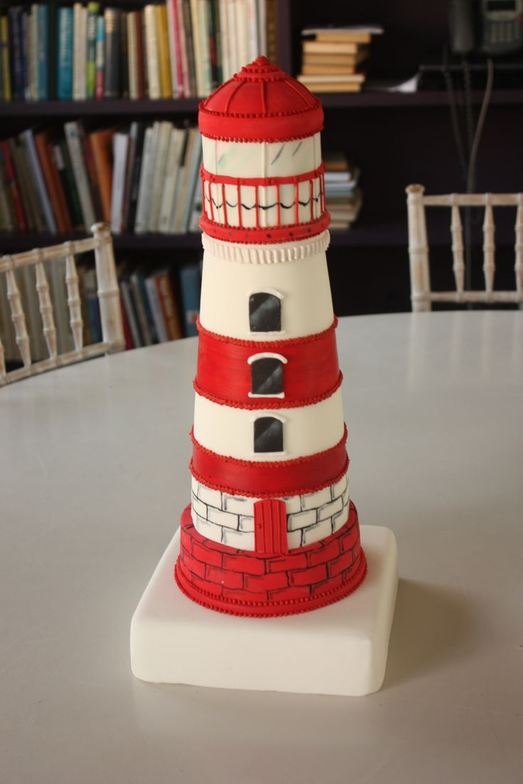 A lovely lighthouse cake for an extra special party