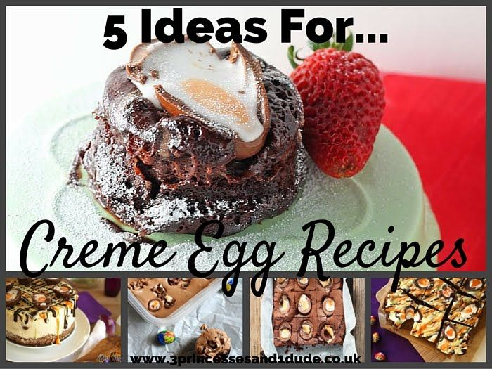We have all seen at least one of them, they seem to be a big thing the last couple of years Easters, Creme Egg recipes are all over Pint...