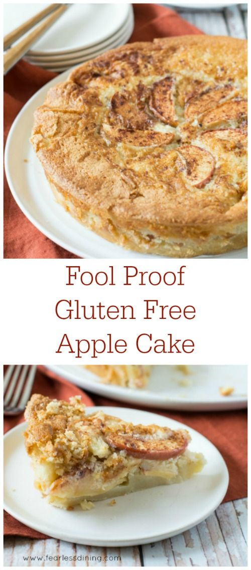 Gluten Free Apple Cakes are completely fool proof. So easy to make! Recipe at…
