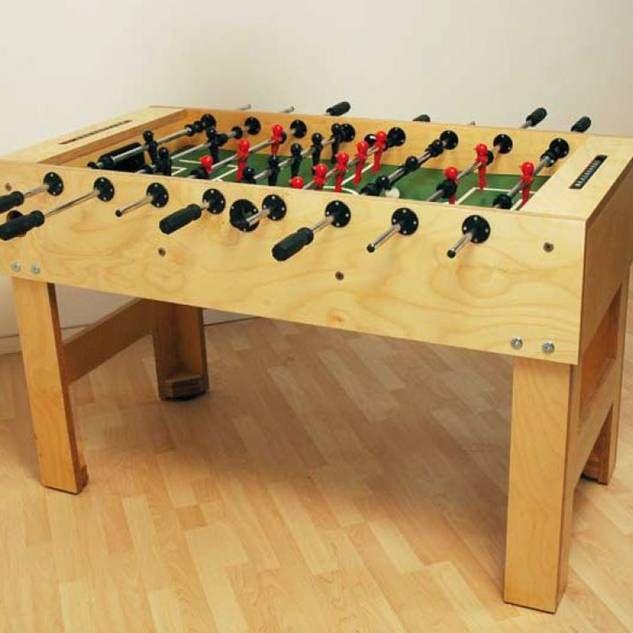 Bauanleitung Tischkicker - Fussballtisch selber bauen. Kostenloser Bauplan als PDF-Download. Free Foosball-Table Plans