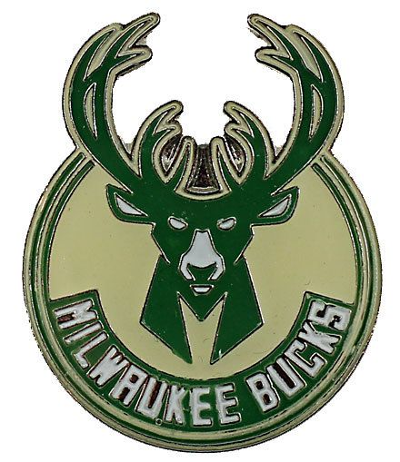 Milwaukee BucKs Logo Pin
