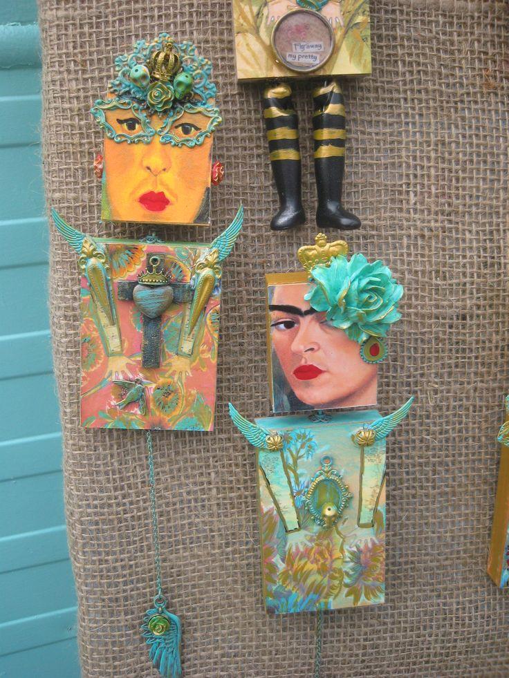 Frida Artdoills  -  ART IN THE PARK 2014