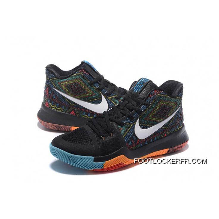 """Nike Kyrie 3 """"BHM"""" Vente En Ligne"""