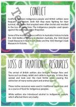 Impact of Colonisation on Indigenous Australians Posters Teaching Resource