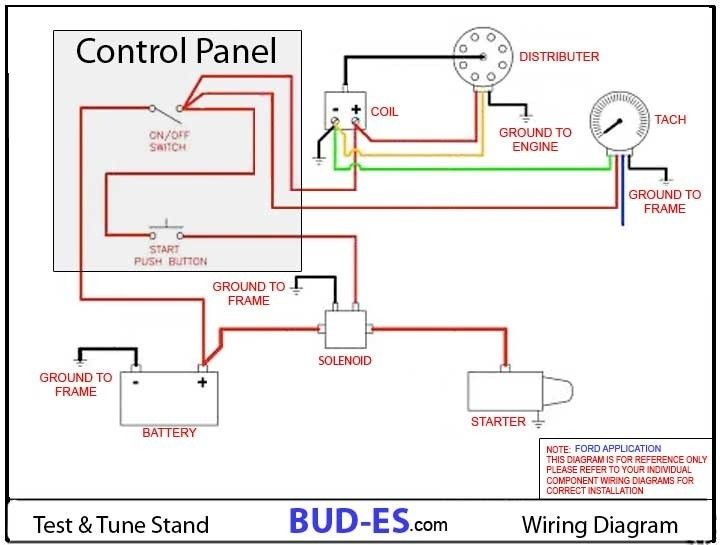 engine run stand wiring diagram images   engineering