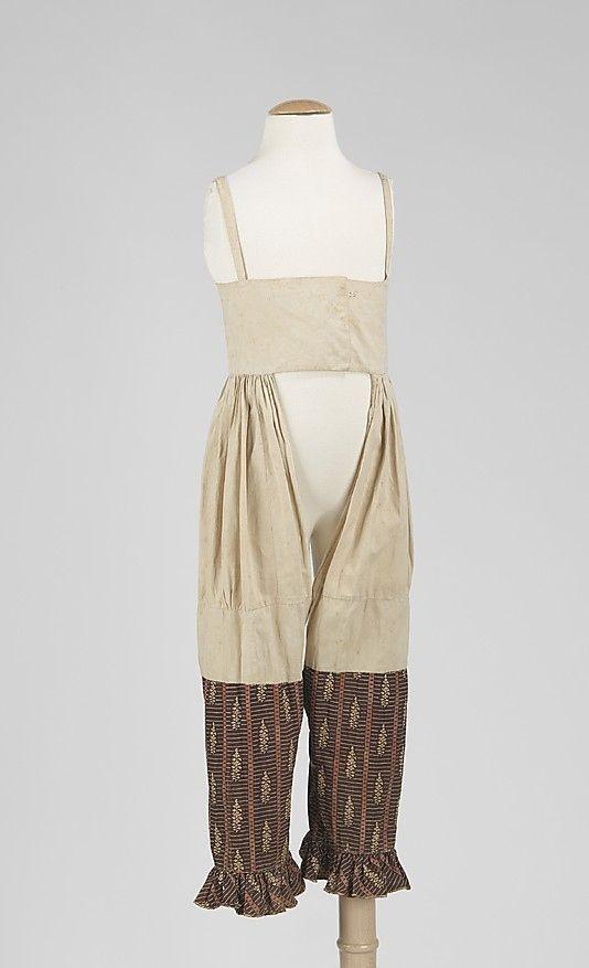 1820s Combination Undergarment