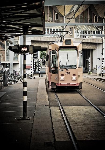 Tram is Coming, Rotterdam City (Blaak, near the cube houses)