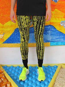 SassiCapra X LaPok 100% Australian made, hand screen printed leggings. 90% cotton 10% spandex.  HAPPY DAYS! Available: http://sassicapra.bigcartel.com/product/pokglyph-leggings