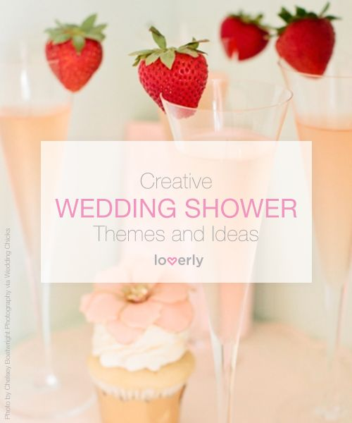 Bridal Shower Tip: 20 Creative Wedding Shower Themes and Ideas