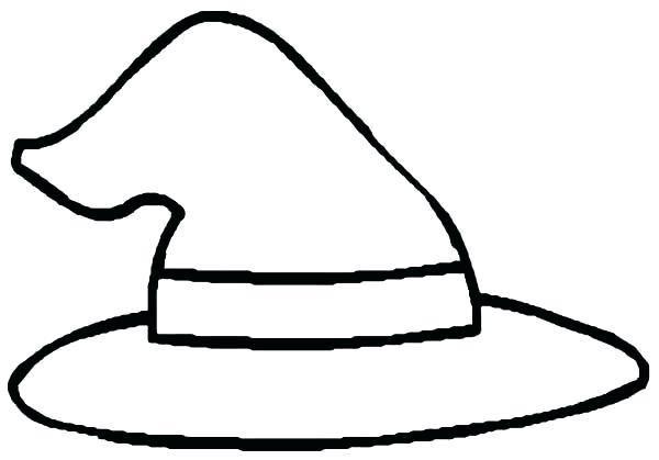 List Of Coloring Witches Hat Pict Witch Coloring Pages