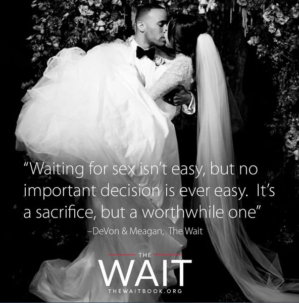 The Wait is a honest depiction of celibacy in the modern age. Devon Franklin and Meagan Good give personal accounts of their journey, individually and as a couple. Whether your choice or considerat…