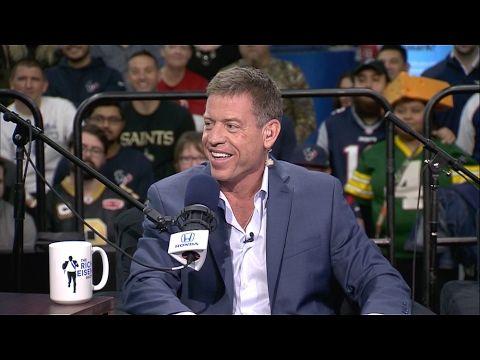 Pro Football Hall of Famer Troy Aikman Talks Tom Brady, Matt Ryan & More...