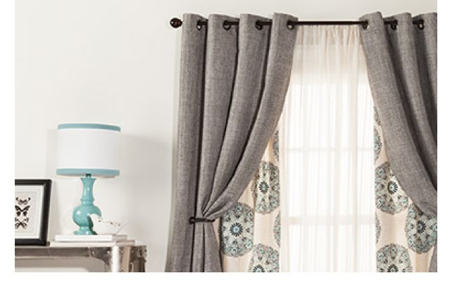 Love this idea for curtains