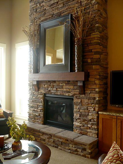 Coronado Stone Idaho Drystack Fireplace....lowes in sf ...