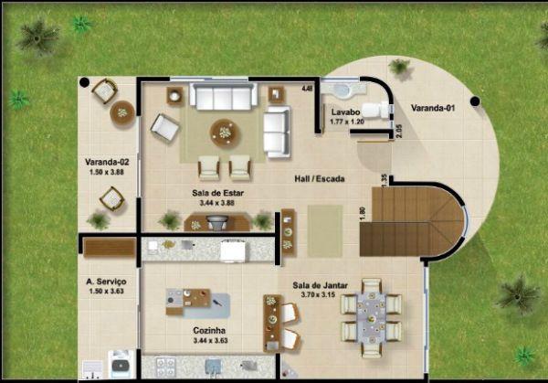 - Casas de dos plantas modernas ...