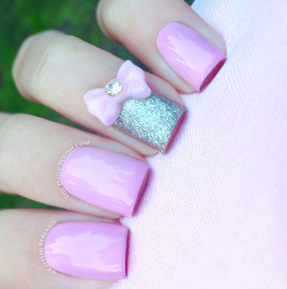 17 best images about Bow nails on Pinterest