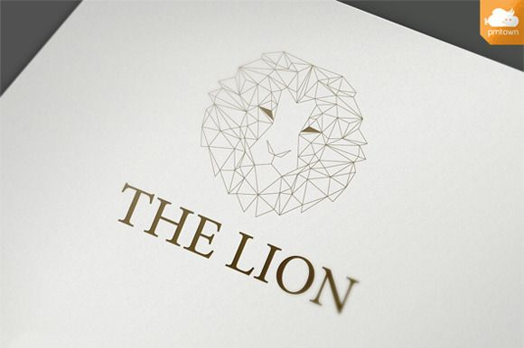 Check out The Lion logo by NIN-ideate on Creative Market