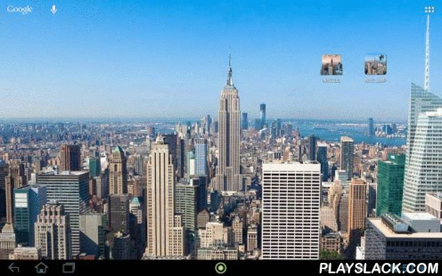 New York City Night & Day Free  Android App - playslack.com , Give your Android device a cosmopolitan look. Carry the skyline of one of the world's great cities on your home screen. This view of New York City switches from day to night depending on the local sunset and sunrise times.This wallpaper is in 4K resolution (4096x2048) which ensures perfect image quality on all devices in portrait and landscape mode.Features:- NEW view modes: Static, auto move, gyro motion- NEW daydream mode…