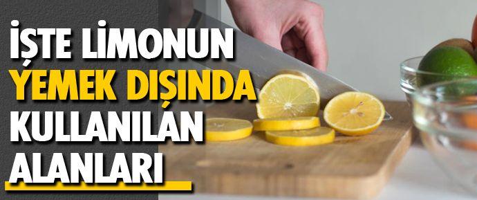 Limonun mutfak dışı kullanım alanlarını ne kadar biliyorsunuz? Limonu besin olarak tüketmek dışında; günlük hayatınızı kolaylaştırmak için kullanabileceğiniz yöntemler haberdesifre.com'da