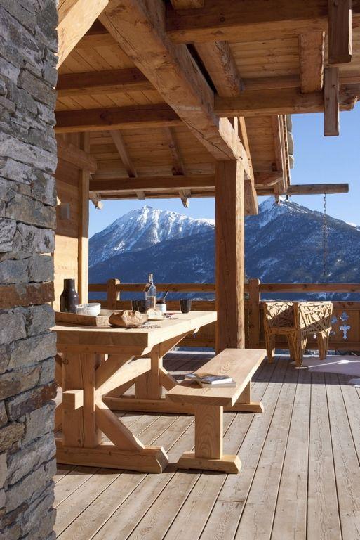 1054 best images about log cabins wood on pinterest for Log cabin montagne blu