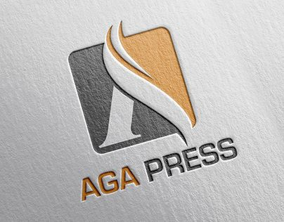 This is the Logo & Website Design for AGA Pressagapress.net