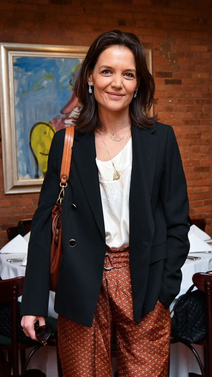 Katie Holmes at the 2019 Tribeca Film Festival Jury Lunch