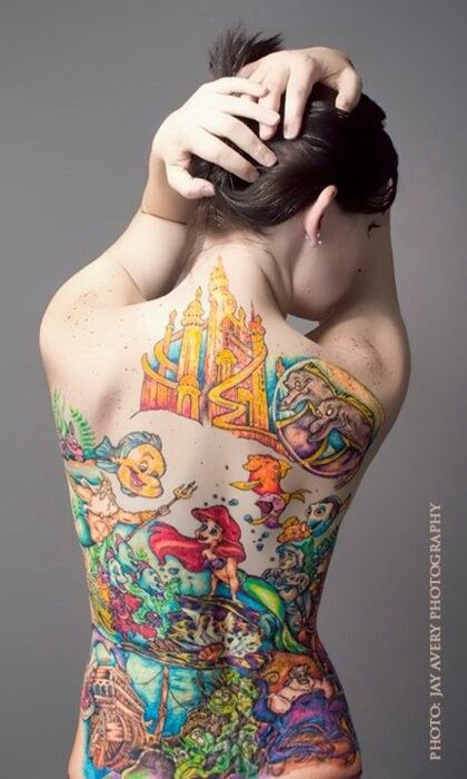 Disney tattoo. In love!!