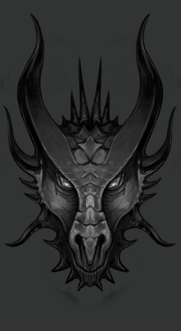 ☆ Dragon Head Sketch :¦: Artist Lawrence Mann ☆